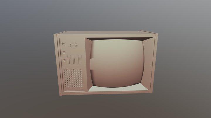 Old-tv 3D Model