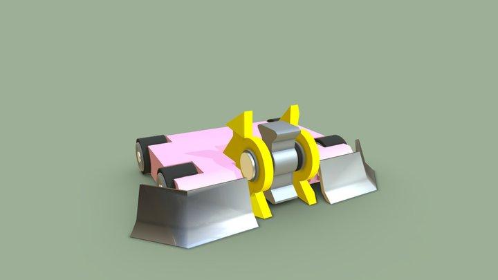 Invertical 3D Model