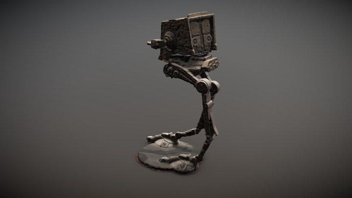 At-St raw scan 3D Model