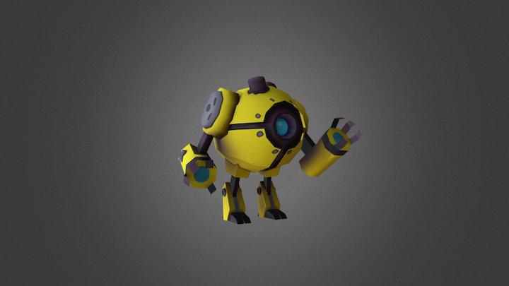 #5 Tankr Idle 3D Model