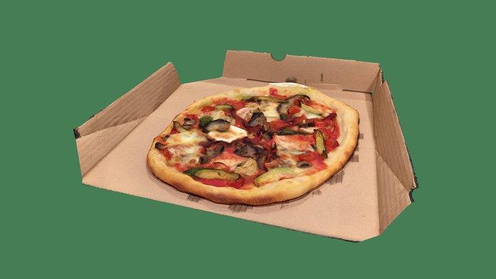 HOMEMADE PIZZA 3D Model