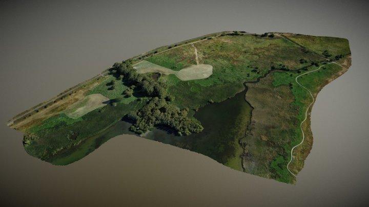 DU Swan Lake Wetland September 3D Model