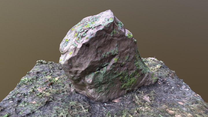 Rock_2/Kamień_2 3D Model