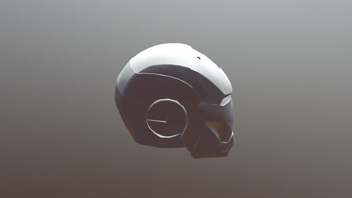 Iowpoly Iron Man Mark 3 3D Model