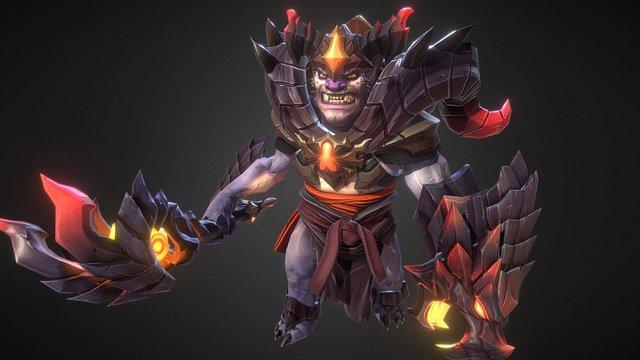 Inferno Rambler set for Lion 3D Model