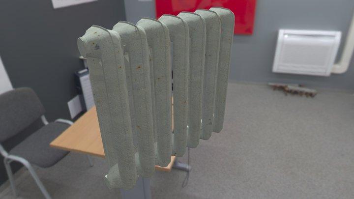 Radiator mc140 3D Model