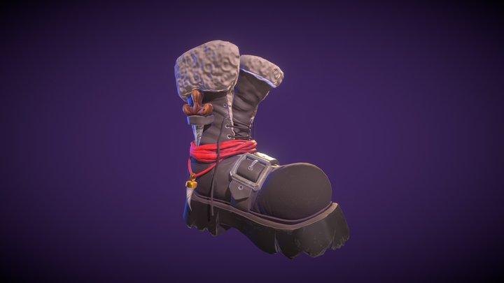 Chunky Shoe 3D Model