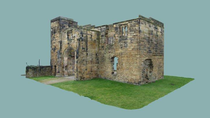 Monk Bretton Priory, Gatehouse 3D Model
