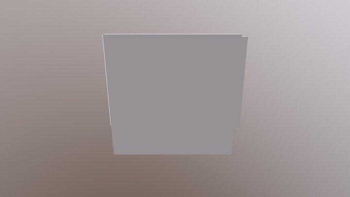 Grünwand 2500x3000 3D Model