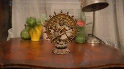 Dancing Shiva statue 3D Model