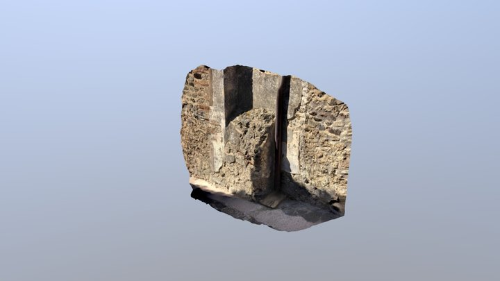 IX.2.19 Downpipe 3D Model
