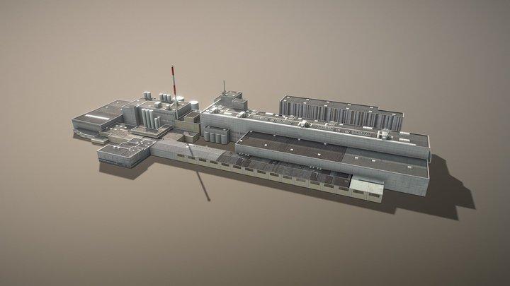 LOWL Linz Factory 3D Model