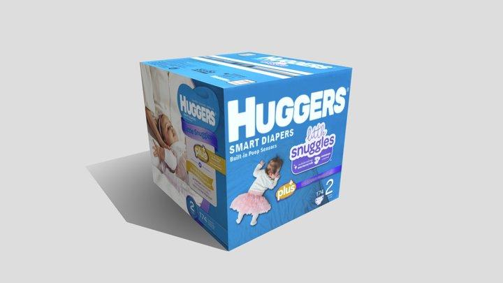 Diapers - Huggers 3D Model