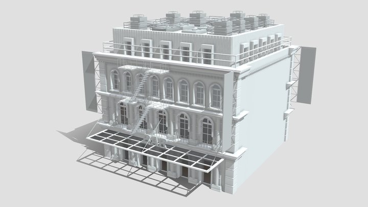 Commercial Building B 5 3D Model