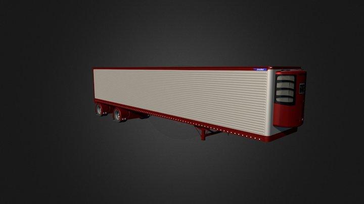 Custom Great Dane Reefer 3D Model