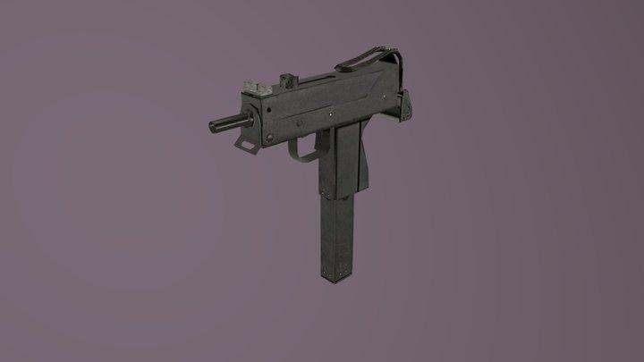 [MAXIMUM ACTION MOD] INGRAM MAC-10 SMG 3D Model