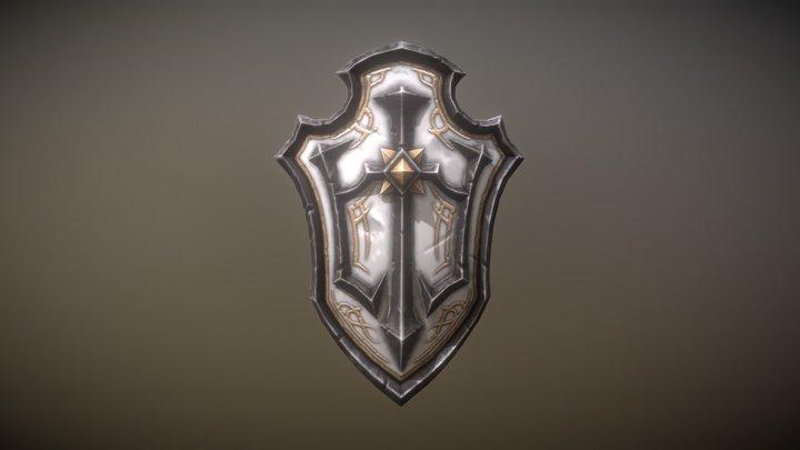 Fantasy Armory - Templar Shield 3D Model