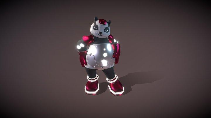 Pang Pang_Robotic Panda 3D Model