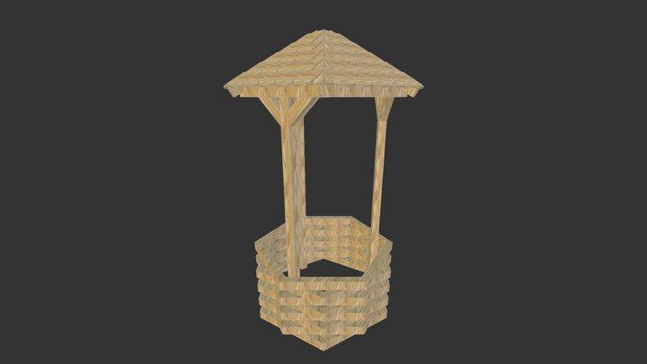 puit jardin 3D Model