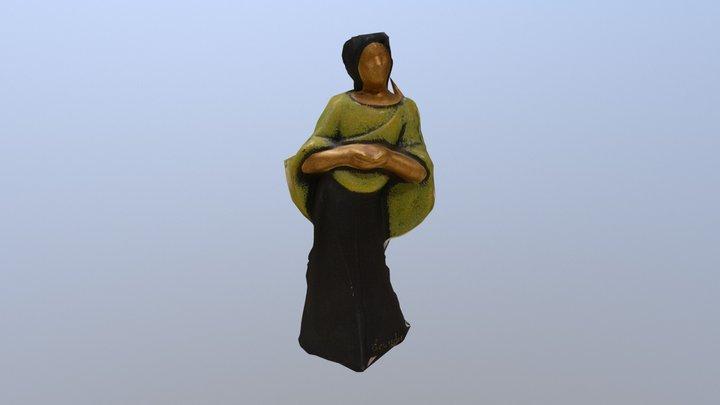 Ecuador Statue 3D Model