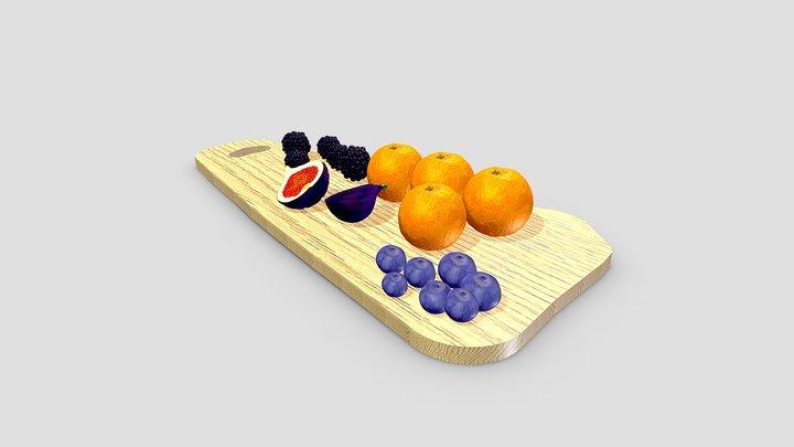 Fruit Board 3D Model