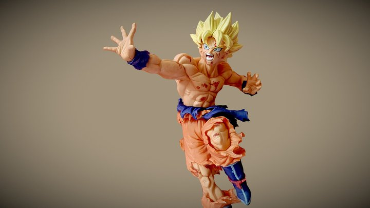 Songoku scan 3D Model