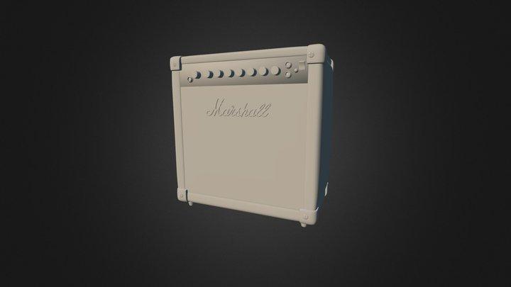 Marshall Amp1 3D Model