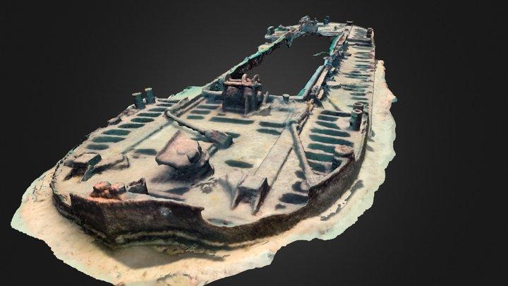 Burgau Wreck 3D Model