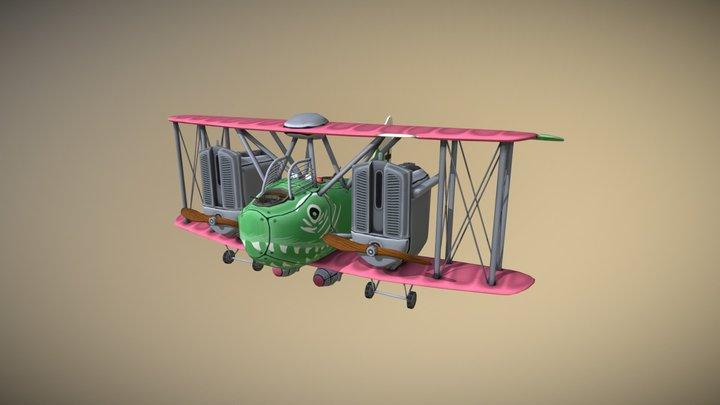 AEG G.IV - Flying Circus 3D Model