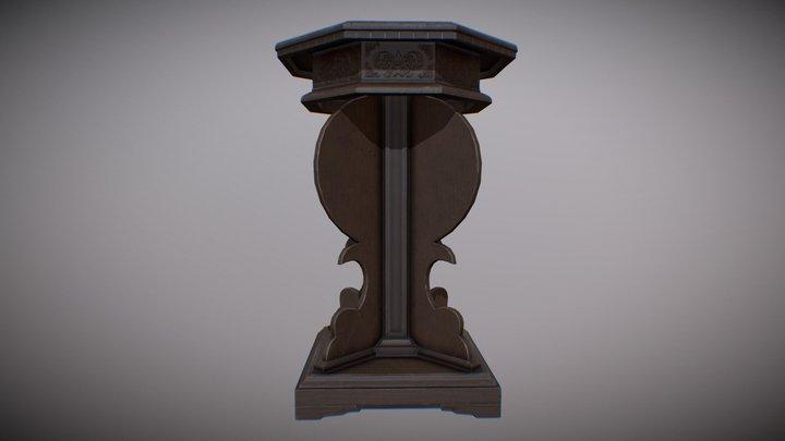 Renaissance Table 3D Model