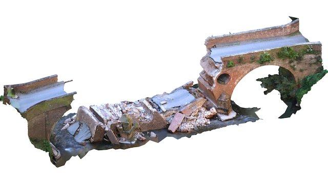 Eastham Bridge 3D Model
