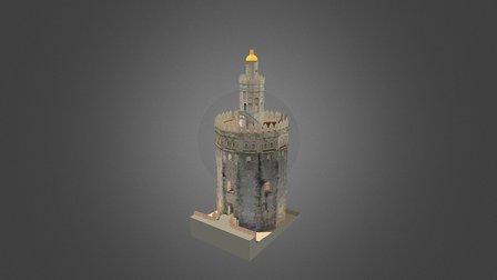 Torre del Oro 3D Model