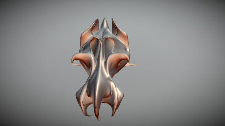 Venus dragon skull (Ancient alien mammal) 3D Model