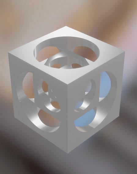 Turners Cube 3D Model