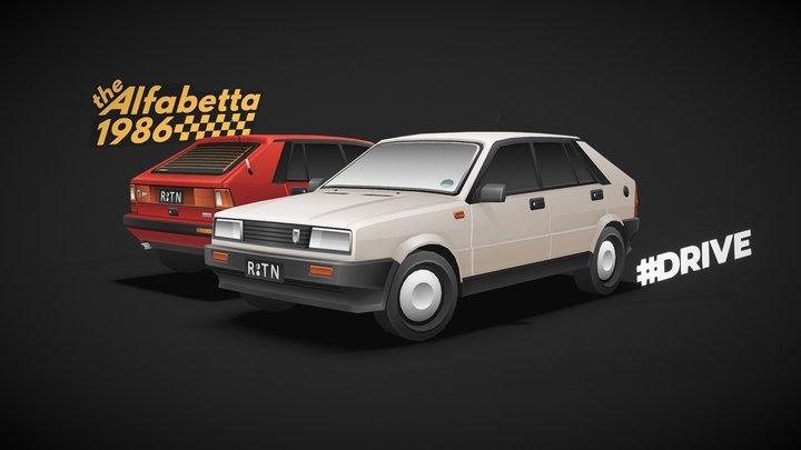 #DRIVE - The Alfabetta 3D Model