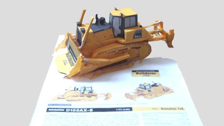 KOMATSU RAUPE 3D Model