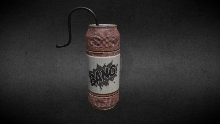 BangCan - #SketchfabCanChallange 3D Model
