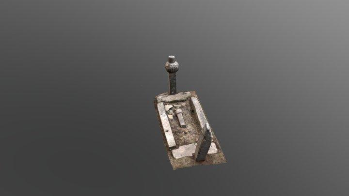Ottoman tomb 3D Model