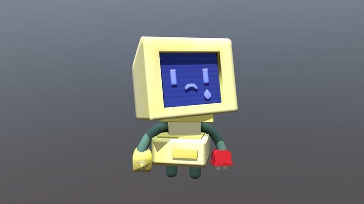 Sad Mack Robot 3D Model