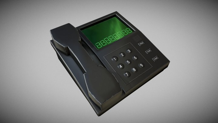 Phone - Low Poly 3D Model