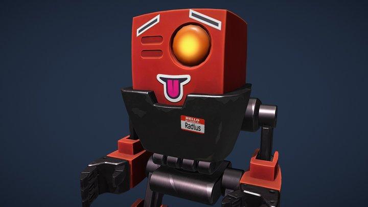 Shorty bot 3D Model