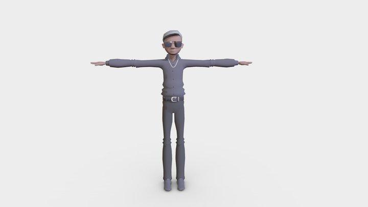 Glen SNK 3D Model