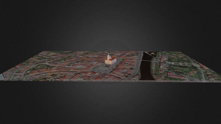 Radnice v Sušici 3D Model