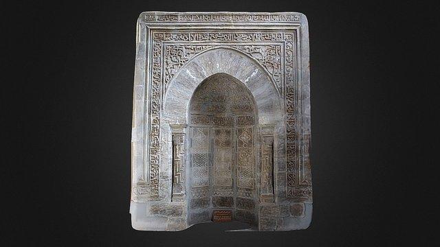 Mihrab of the mosque Banat Al Hasan 3D Model
