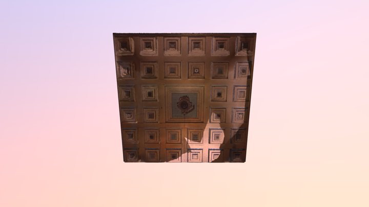 TOSSON MAIN HALL CEILING 3D Model
