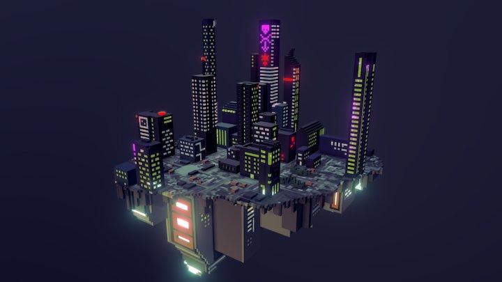 Nación pirata independiente de Neutronia 3D Model