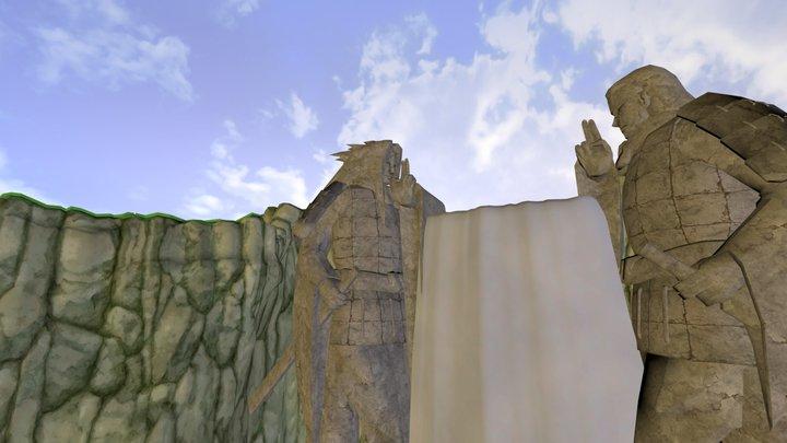 Final Valley 3D Model