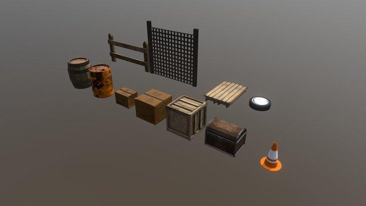 Generic Props 3D Model