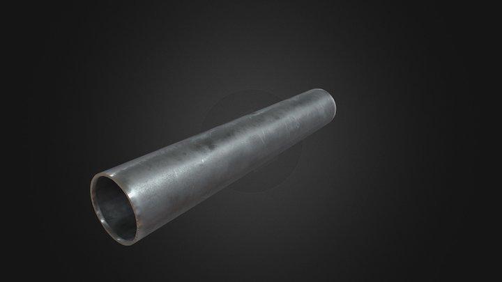 Material Pipe (Iron) 3D Model