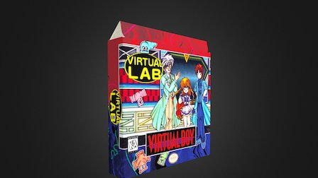 Virtual Lab Box 3D Model